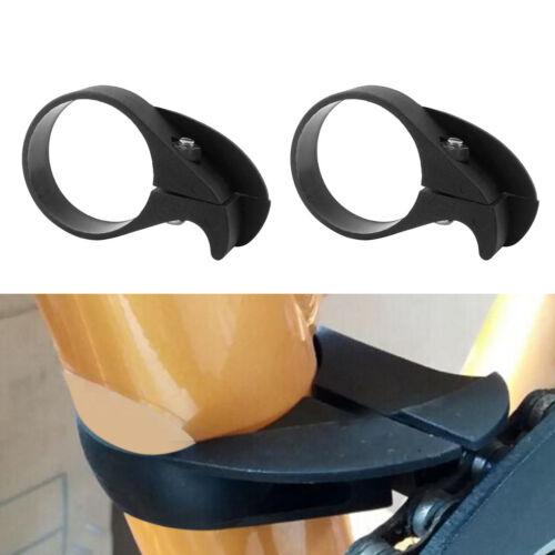 2pcs anti-chute vélo vélo unique chaîne guide protecteur pince