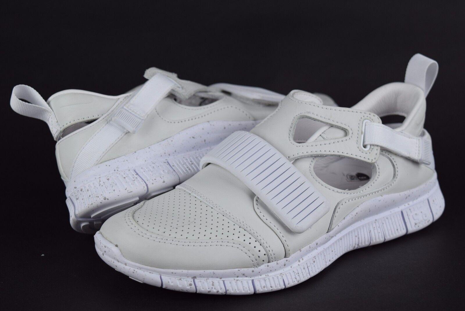 NWOB Mens NikeLab Free Huarache Carnivore SP 801759 110 sz 6 6 sz white sneakers 7a7f70