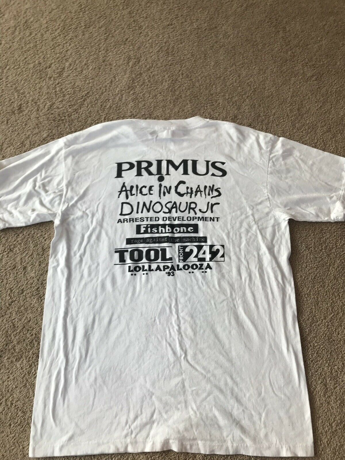 Vintage 1993 Lollapalooza Primus Alice In Chains … - image 2