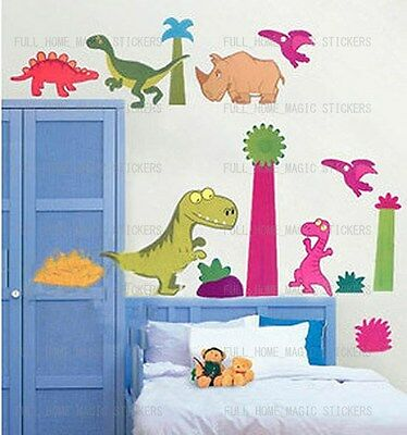 Kids Room Decor Mural Wall sticker Dinosaur Kingdom