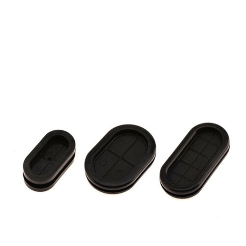Synthetic Rubber Oval Shape Closed Grommets Double-Sided Cable Bung Various size