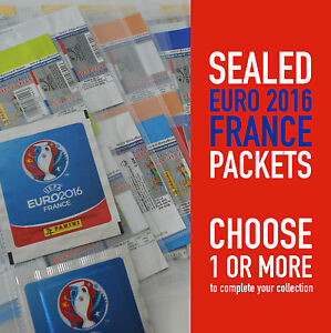 PANINI different sealed packets EURO 2016 FRANCE EC 16 | choose your packet tüte