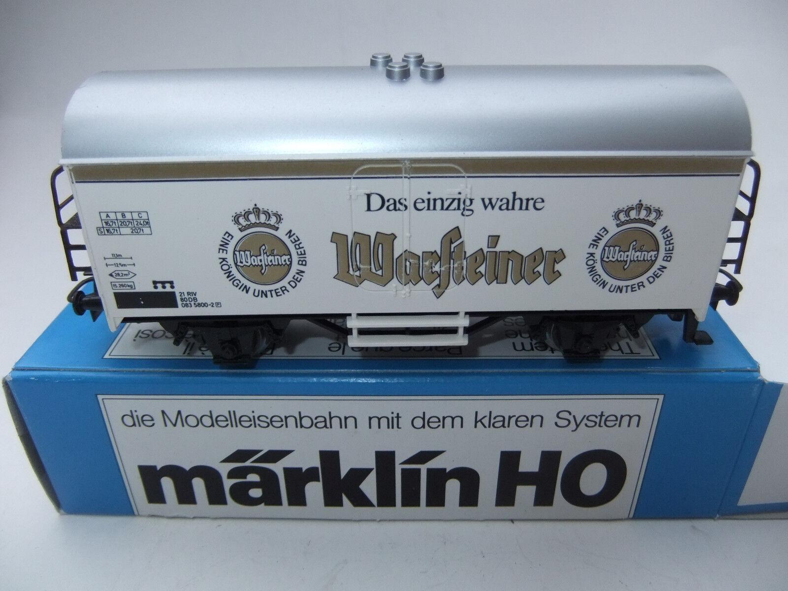 Märklin 4415 Kühlwagen Warsteiner Warsteiner Warsteiner limitierte Auflage   OVP  3048  | Um Sowohl Die Qualität Der Zähigkeit Und Härte  c269f4