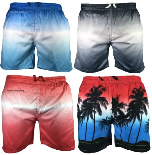 Mens Swimming Board Shorts Swim Shorts Trunks Swimwear Beach Summer Boys 2 Tone