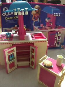 Vintage-Barbie-Dream-Kitchen-1984-Close-To-Be-Complete