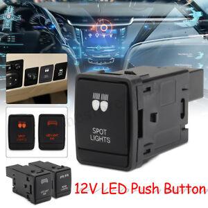 Push-Switch-LED-Fog-Driving-Light-Bar-For-Nissan-Navara-NP300-Pathfinder