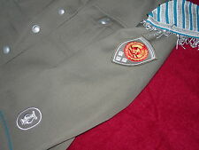 DDR luftwaffe Bandsmans uniform and visor hat
