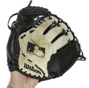 Wilson-Model-A2451-11-034-Youth-Baseball-Glove-Right-Hand-Thrower-Genuine-Leather
