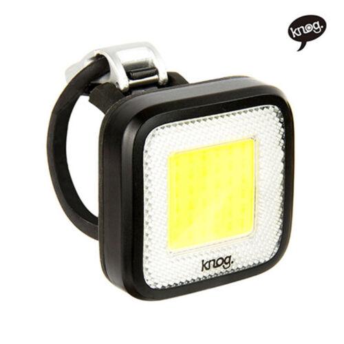 Knog Blinder MOB MR CHIPS Bike Light Black Rechargeable Front //Rear Tail Light