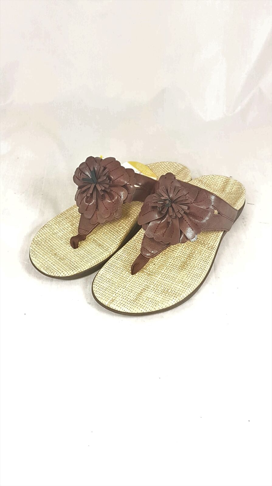 Women's Vionic with Orthaheel Chocolate Talia Sandals UK 7   EU 40   US 9
