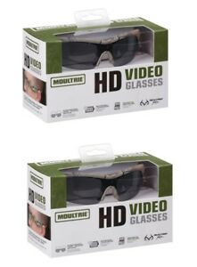 2-Pair-of-Moultrie-HD-Camera-Video-Shooting-Hunting-Fishing-Sun-Glasses-GoPro