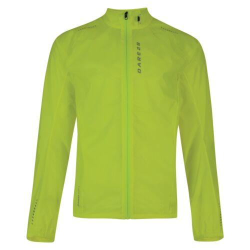 Dare2b Ensphere II Mens Waterproof Windshell Jacket Cycling Running High Viz