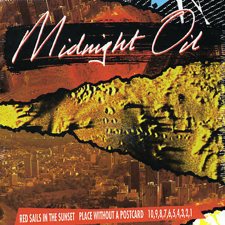 1 of 1 - MIDNIGHT OIL 3CD NEW Red Sails In The Sunset/Place Without A Postcard/10 9 8 7 6