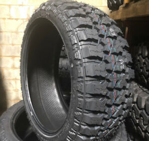 4 New 33x12 50r22 Lrf Fury Off Road Country Hunter M T Mud Tires 33