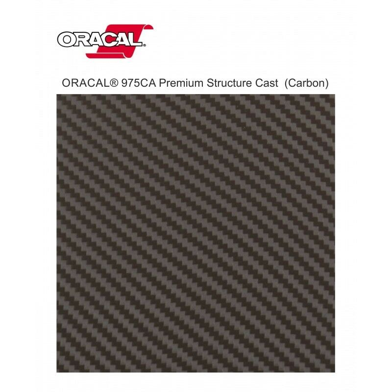 Carbonio pellicola rivestimento wrapping Oracal 975