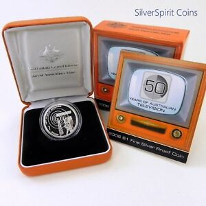 2006-TELEVISION-Silver-Proof-11-6g-Coin