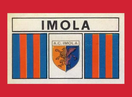IMOLA SCUDETTO SERIE C CALCIATORI PANINI 1969//70 RECUPERO
