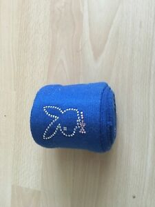 Bandagen-blau-mit-Strass-Playboy-2er-Set