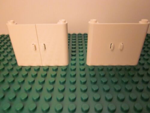 NEW Lego Lot of 2 Sets of White Doors 1x3x4