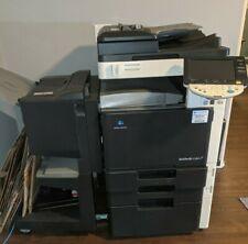 Konica Minolta Bizhub C353 Color Printer Copier Scanner Withbooklet Staple Fins