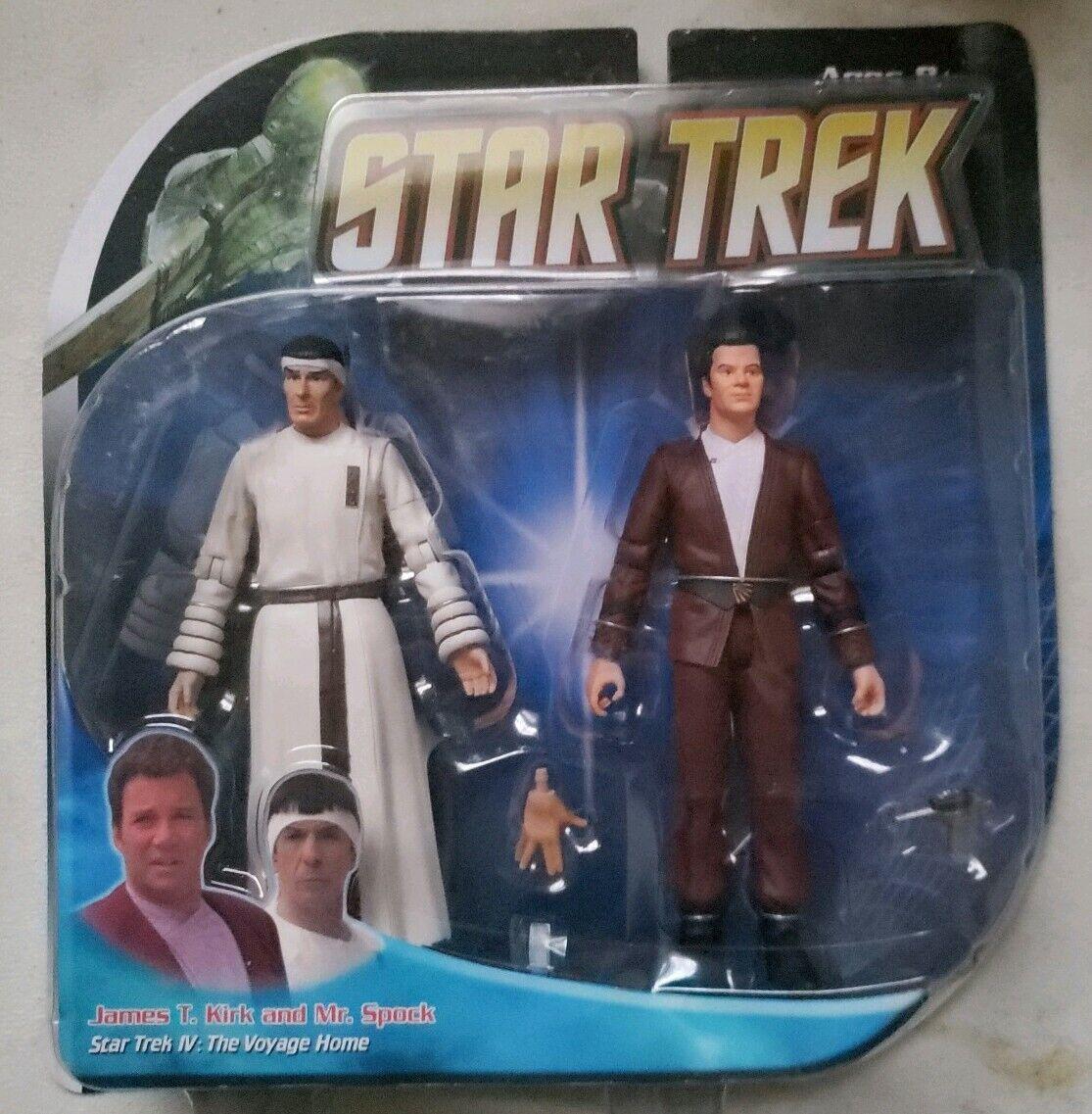 estrella Trek IV Voyage Home Set Admiral James T Kirk Spock Diamond Select cifra