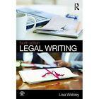 Legal Writing by Lisa Webley (Paperback, 2016)