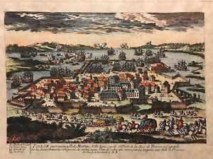 Telo-Martinus-Port-de-Toulon-par-Aveline-1691-1743-tirage-tardif-fin-XVIII-XIX