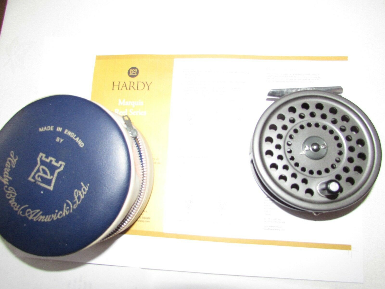 Stunning vintage Hardy Marquis 8 9 trout  fly fishing reel & case etc ...  on sale 70% off