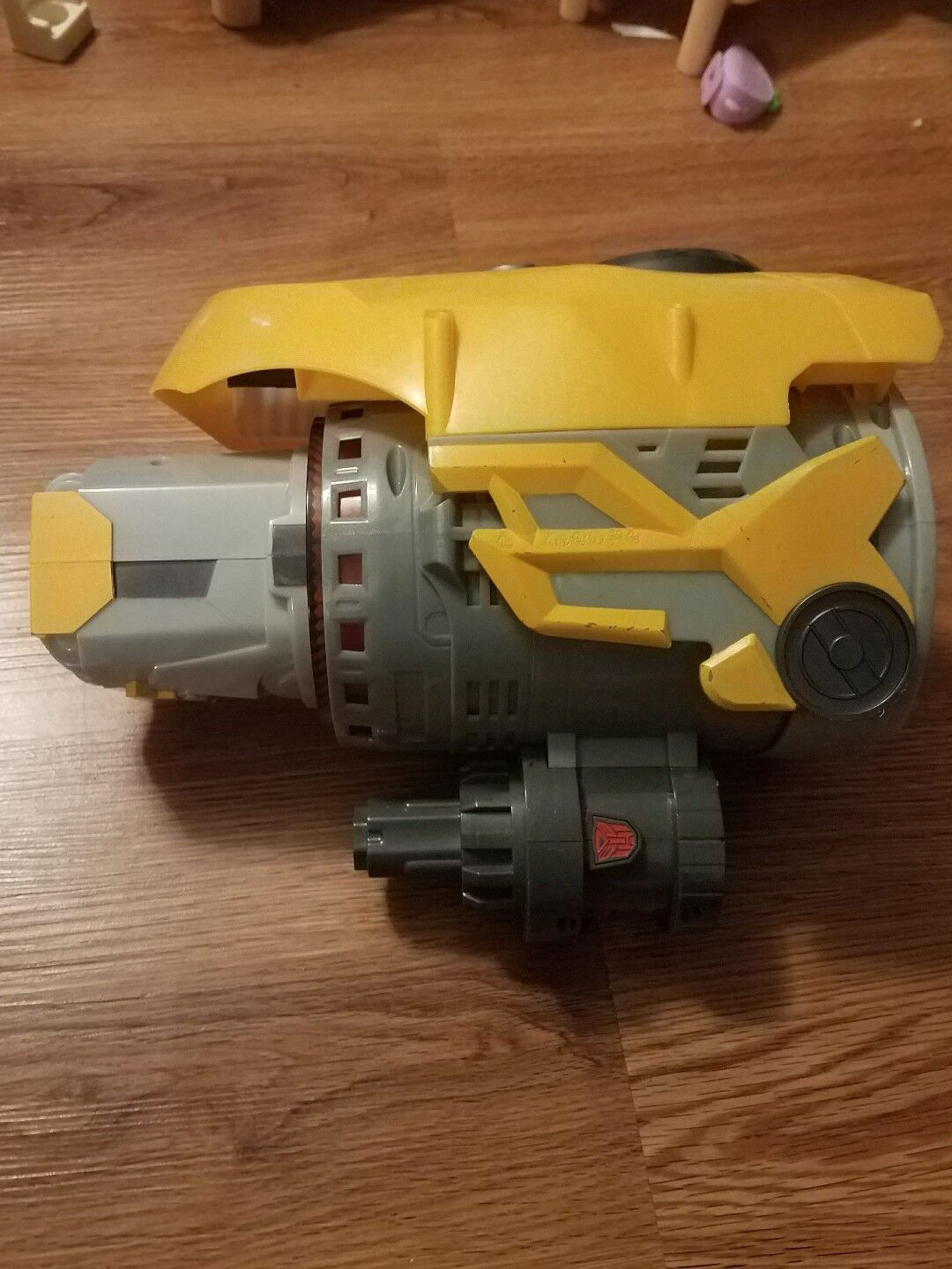 Transformers Bumblebee Yellow Plasma Cannon Blaster Arm Gun Sounds WORKS