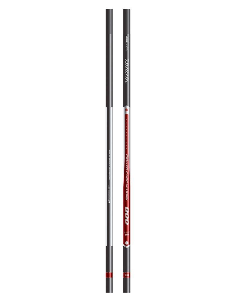 DAIWA NUOVO Coarse Pesca Carpa di potenza 800 margine Pole 8m