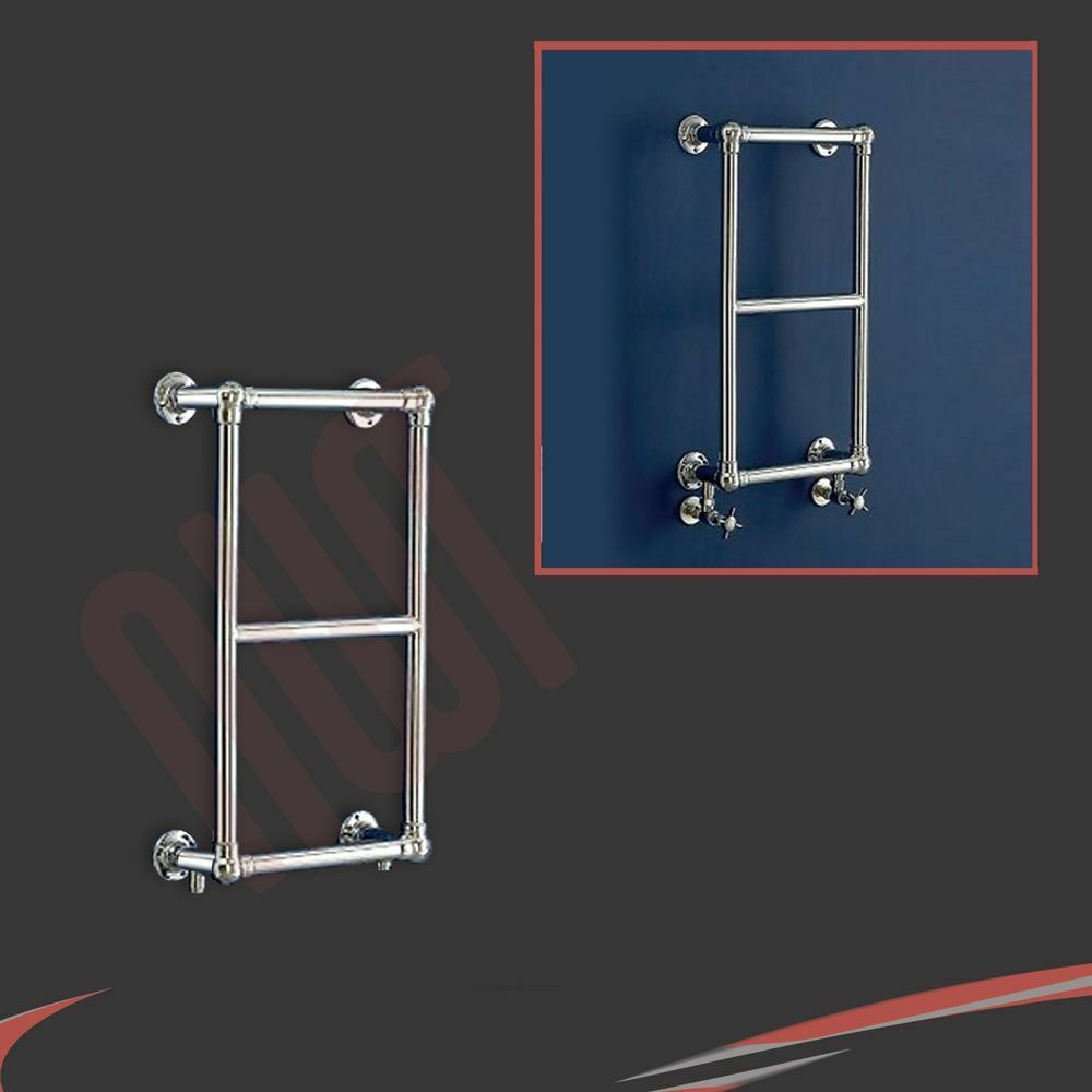 400mm (w) x 700mm (h)  harley  chrome traditionnel mural porte-serviettes
