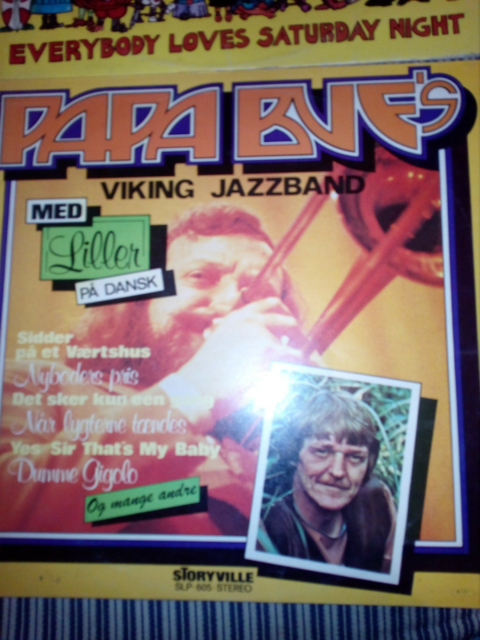 LP, Papa Bues, Jazz, papa bues viking jazz band 2 lper