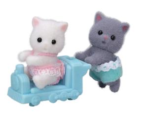 Sylvanian Families Persian cat Mother Ni-104 Epoch Japan import NEW