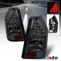2005-2008 Dodge Magnum [urban Black Smoke Lens] Led Tail Lights Rear Lamps Pair