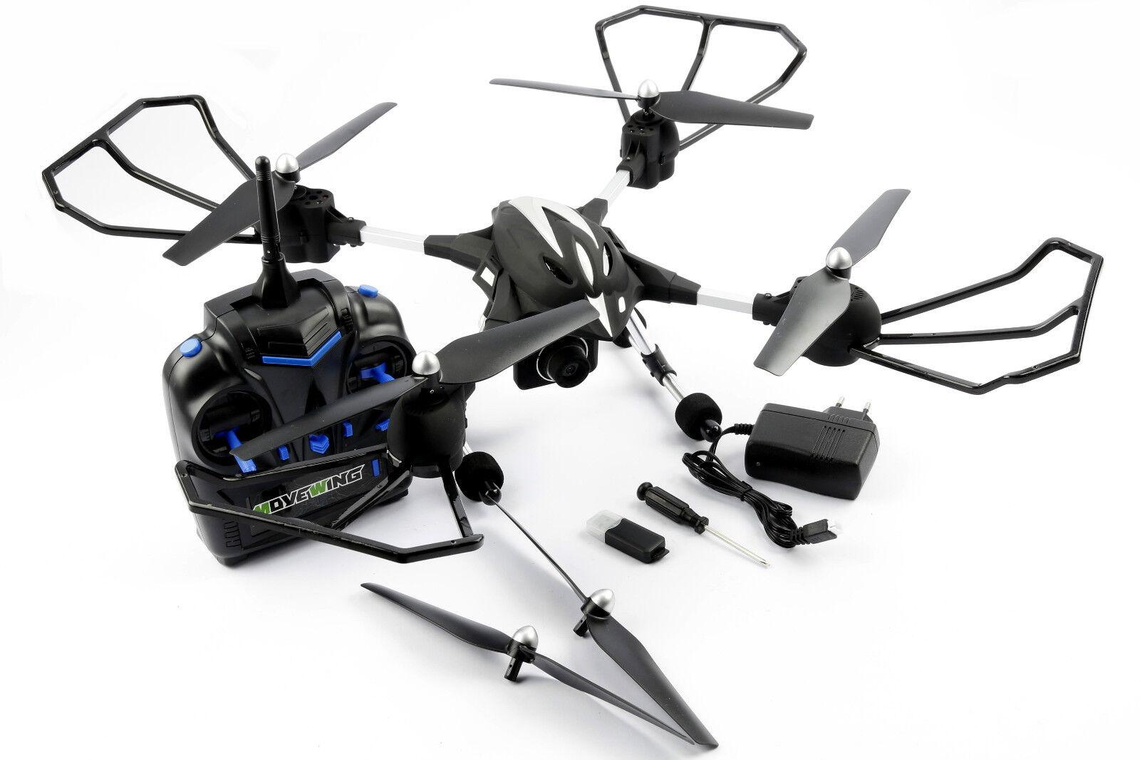 Quadrocopter q019003 3d Action 2.4 GHz drone RC drone set RTF cámara 720p 2216