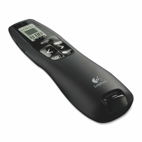 Logitech R800 Professional Presenter Pointer for Business Wireless green laser