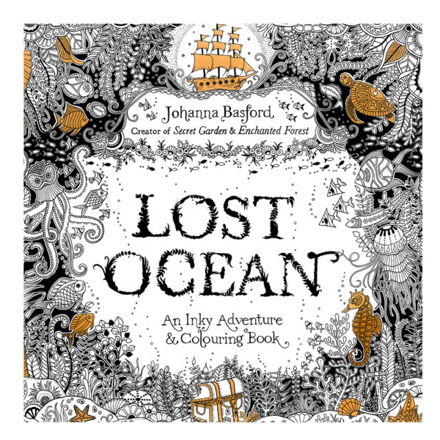 Image result for lost ocean coloring book