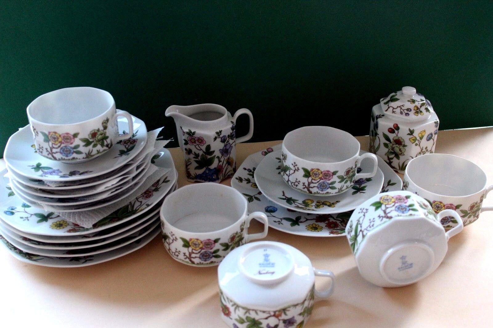 Kaiser Nanking Tee- Kaffeeservice für 6 Personen 20 Teile