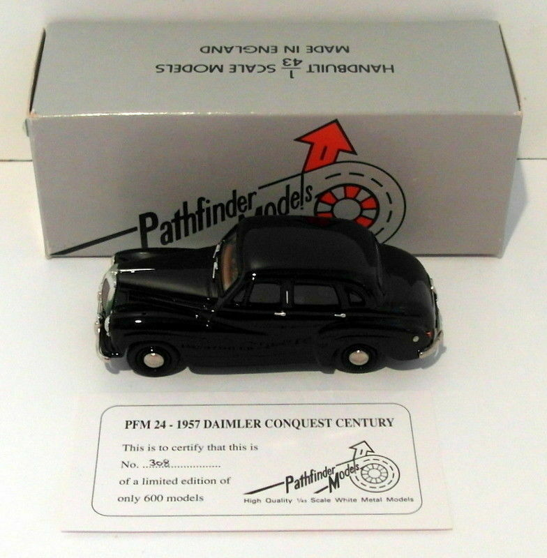 Pathfinder Models 1 43 Scale PFM24 - 1957 Daimler Conquest Century 1 Of 600 Navy