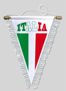 FANION-TRIANGLE-ITALIE-18-X-25-CM-BLASON-ECUSSON-FOOTBALL