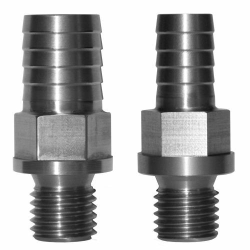 """Pacific Performance Engine 113060601 1//2/"""" CP3 Pump Inlet Fitting Stainless Steel"""