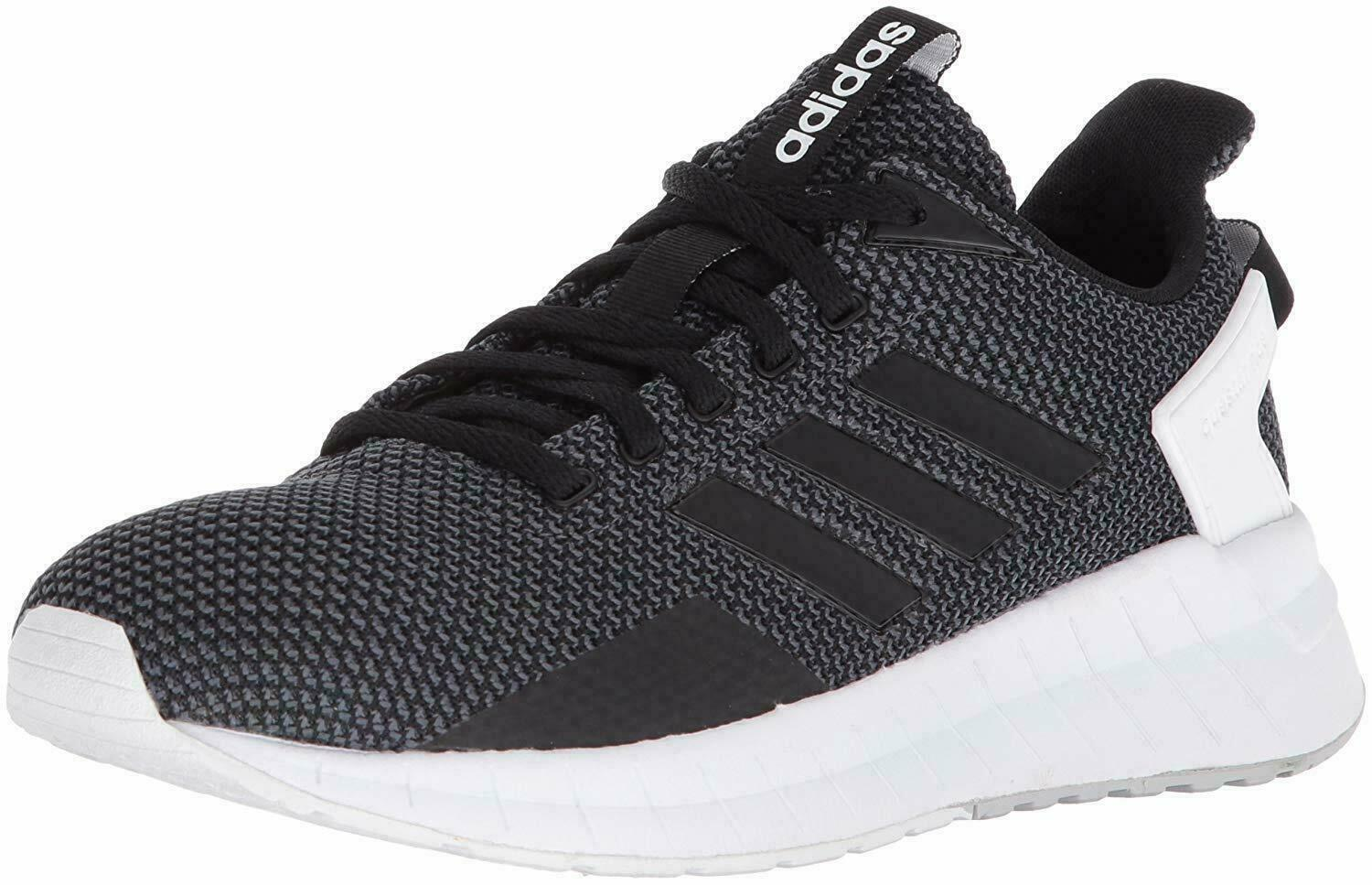ADIDAS QUESTAR RIDE LOW SNEAKERS WOMEN SHOES CARBON BLACK GREY DB1308 SZ 7.5 NEW