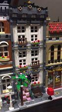 Lego Custom Modular Building. White Town House. Like 10182, 10185