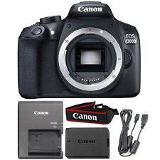 Canon EOS 1300D 18MP Digital SLR Camera Body (Black)