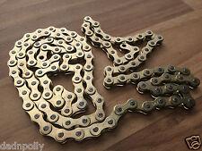 RALEIGH TOMAHAWK  BRAND NEW SHINEY 'GOLD COLOURED' CHAIN - TOMAHAWK RESTORATION