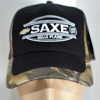 Saxe Chevy Buick Mn Hat Realtree Hd Camo Baseball Ball Cap Lid Hunting Truck