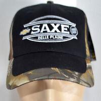 Saxe Chevy Buick Mn Hat Realtree Hd Camo Baseball Ball Cap Lid Hunting Truck