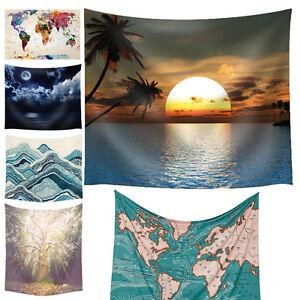 Indische-Mandala-Tapisserie-Wand-Haengende-Polyesterfaser-Tagesdecke-Strandtuch