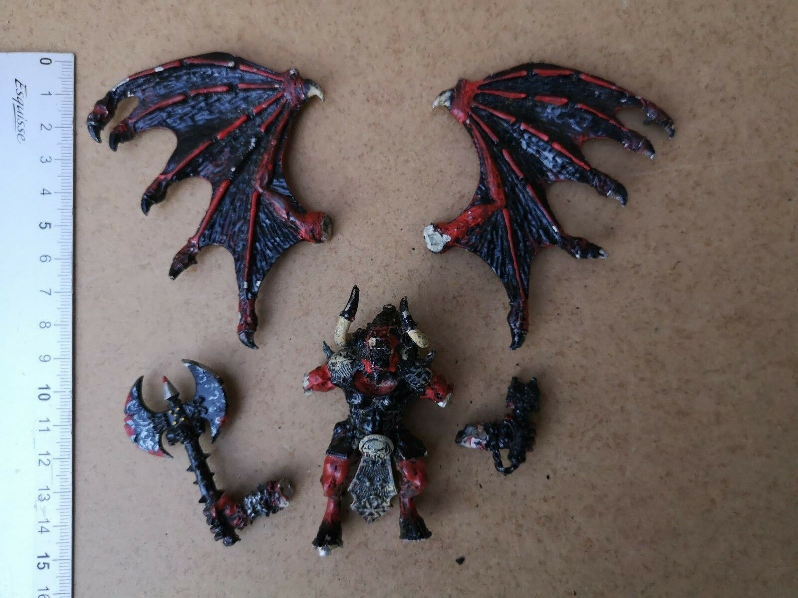 GREATER CHAOS DEMON METAL OOP GAMES WORKSHOP   WARHAMMER   G45