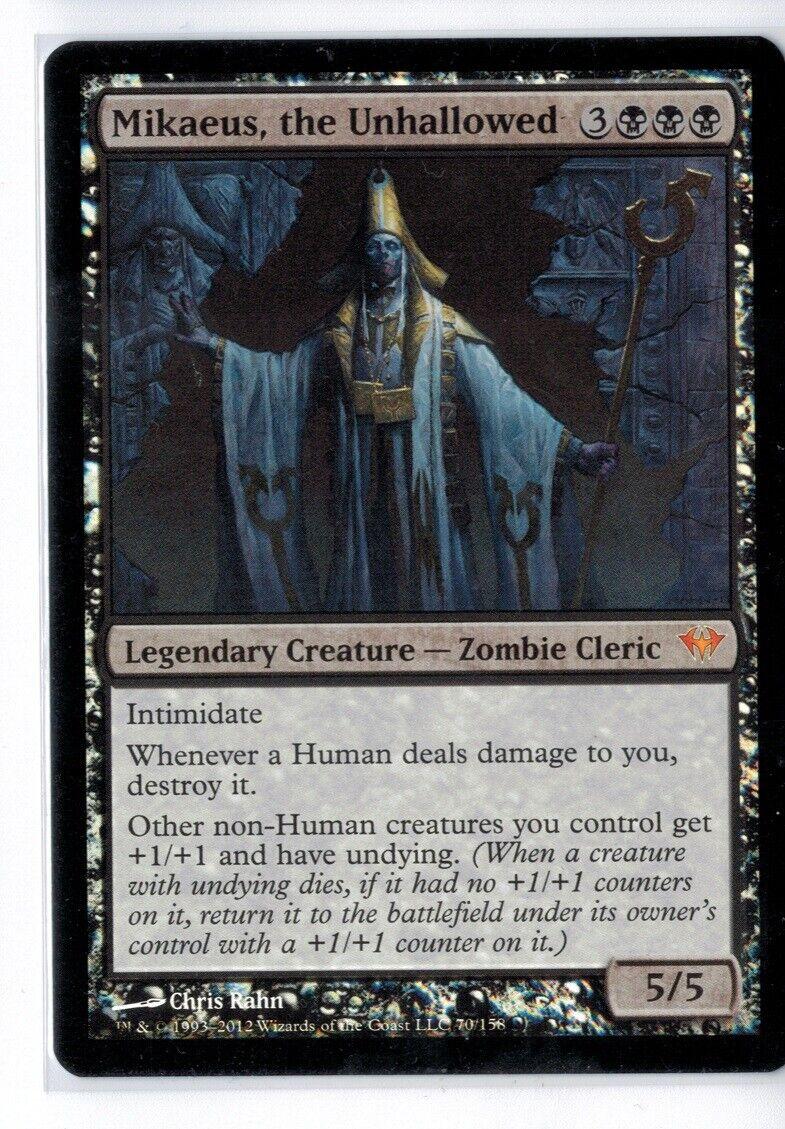 MtG Dark Ascension MIKAEUS, THE THE THE UNHALLOWED NM NM- FOIL 7e6e22
